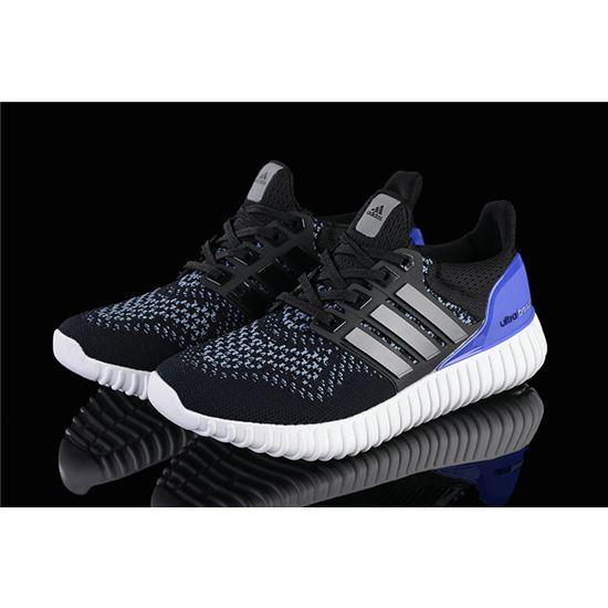 Designer Adidas Ultra Boost Mens Running Shoes Black Purple
