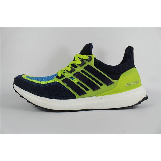 Fabulous Adidas Ultra Boosts Mens Running Shoes Dark Blue