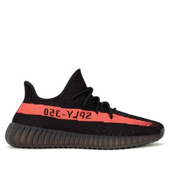 Adidas Yeezy Boost 350 V2 & Black/Red & Core Black/Red/Core Black (By9612)