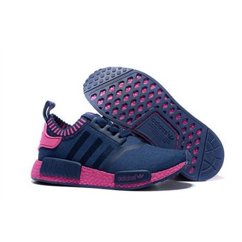 Adidas Originals Nmd R1 Runner Primeknit Women Blue/Pink