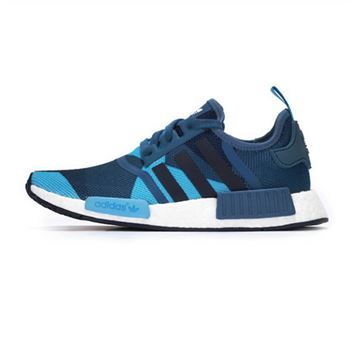 Adidas Wmns Nmd R1 Blanch Blue Collegiate Navy