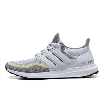 Attractive Adidas Ultra Boost Mens Running Shoes Gray Beige Usa Official Online