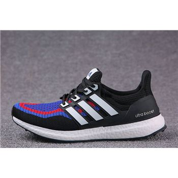 Free Shipping Adidas Ultra Boosts Mens Running Shoes Black Red Blue High Quality Usa