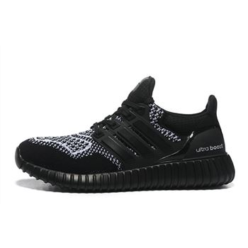 Good Adidas Ultra Boost Mens Running Shoes Black White Limited Online