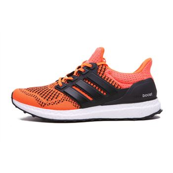 Low Price Adidas Ultra Boost Mens Running Shoes Orange Black Limited Online
