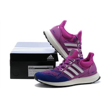 Mens Adidas Ultra Boost Purple Pink Limited Online