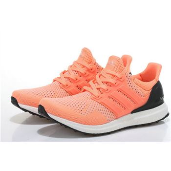 Adidas Ultra Boost Women Orange White Fast Shipping