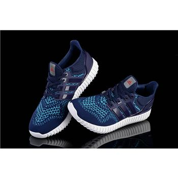 Attractive Adidas Ultra Boost Mens Running Shoes Dark Blue Factory Wholesale
