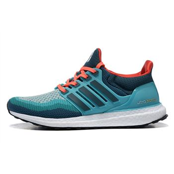 Beautiful Adidas Ultra Boost Mens Running Shoes Green Red For Cheap Usa