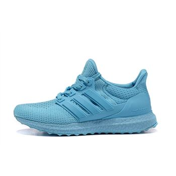 Beautiful Adidas Ultra Boost Womens Running Shoes Powderblue Top Quality