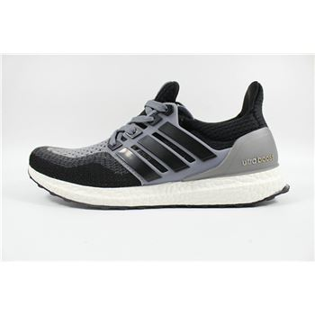 Best Adidas Ultra Boosts Mens Running Shoes Black Gray Fast Shipping