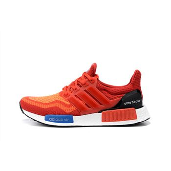 Best Of Adidas Nmd X Ultra Boost Mens Running Red Orange Usa Clearance Sale