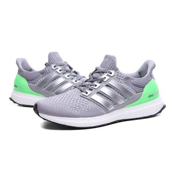 Best Of Adidas Ultra Boost Mens Running Shoes Gray Green High Quality Usa