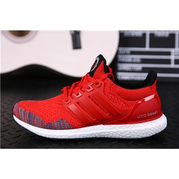 Cheap Adidas Ultra Boost Monkey Years Mens Running Shoes Red Usa Online Sale