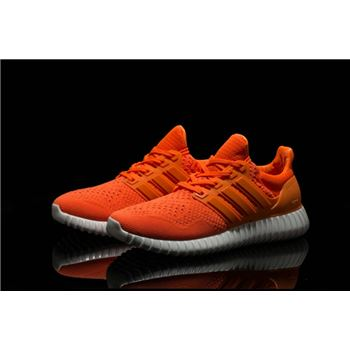 Classic Adidas Ultra Boost Mens Running Shoes Orange High Quality Usa