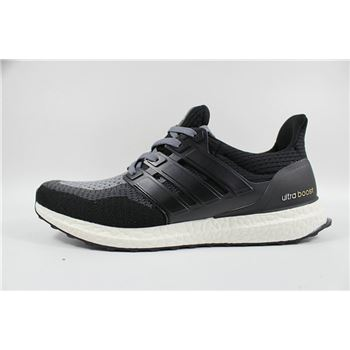 Elegant Adidas Ultra Boosts Mens Running Shoes All Black Whole World Shipping
