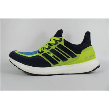 Fabulous Adidas Ultra Boosts Mens Running Shoes Dark Blue Green Cheapest Online