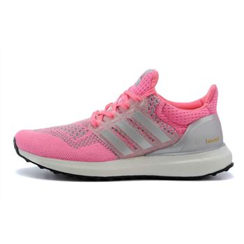 Good Adidas Ultra Boost Womens Running Shoes Pink Big Sale Usa
