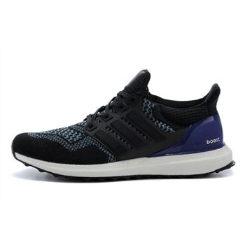 High Grade Adidas Ultra Boost Womens Running Shoes Black Purple Free Shipping