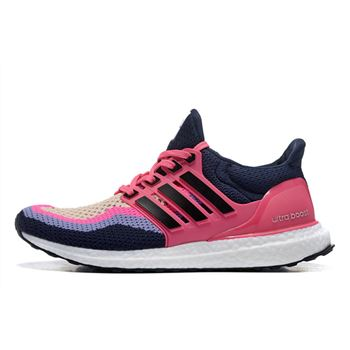 High Grade Adidas Ultra Boost Womens Running Shoes Pink Purple New Limited Online
