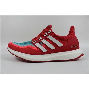 Hot Sale Adidas Ultra Boosts Womens Running Shoes Red Green New Usa Official Online