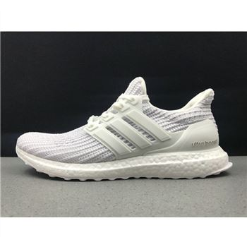 Adidas Ultra Boost 4.0 All White Shoes