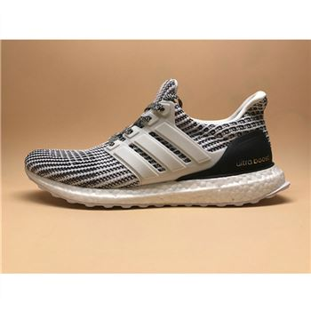 Adidas Ultra Boost 4.0 White Black Shoes